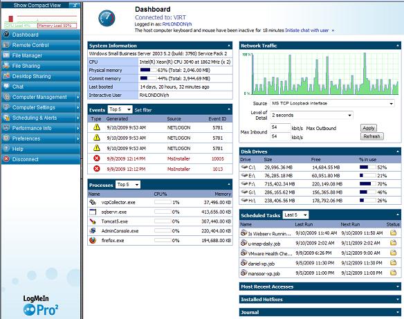 Full LogMeIn Pro screenshot